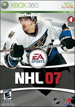 NHL 07 (Xbox 360) by Electronic Arts Box Art
