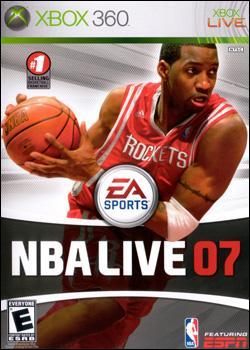 NBA Live 07 (Xbox 360) by Electronic Arts Box Art