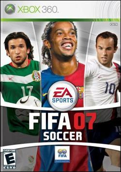FIFA Soccer 07 (Xbox 360) by Electronic Arts Box Art