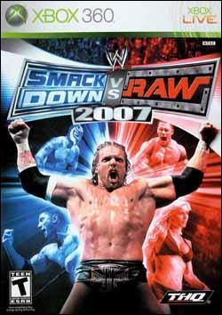 WWE Smackdown vs Raw 2007 Box art
