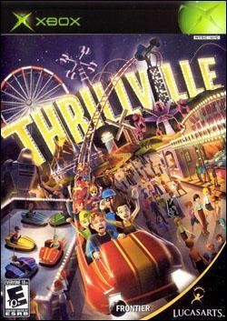 Thrillville (Xbox) by LucasArts Box Art