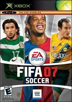 FIFA 07 Soccer (Xbox) by Electronic Arts Box Art