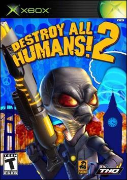 Destroy All Humans 2 (Xbox) by THQ Box Art