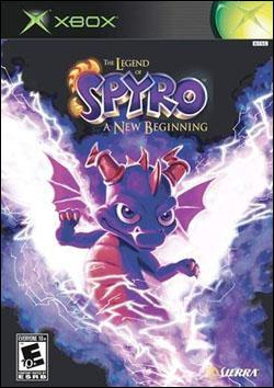 The Legend of Spyro: A New Beginning (Xbox) by Sierra Entertainment Box Art