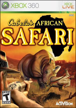 Cabela's African Safari (Xbox 360) by Activision Box Art