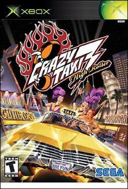 Crazy Taxi 3: High Roller Box art