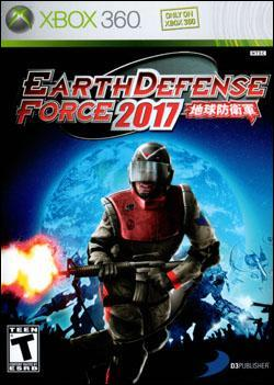 Earth Defense Force 2017 (Xbox 360) by D3 Publisher Box Art
