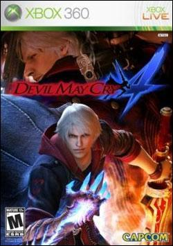 Devil May Cry 4 (Xbox 360) by Capcom Box Art