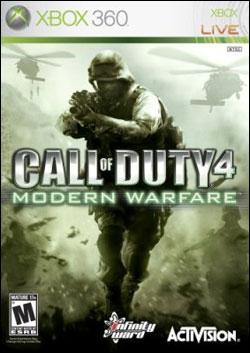 Call of Duty 4: Modern Warfare (Xbox 360) by Activision Box Art