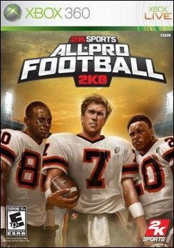 All-Pro Football 2K8 (Xbox 360) by 2K Games Box Art