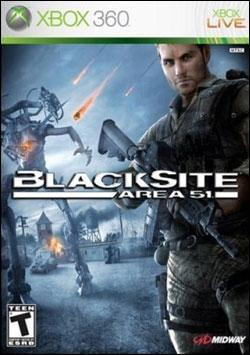 BlackSite: Area 51 (Xbox 360) by Midway Home Entertainment Box Art