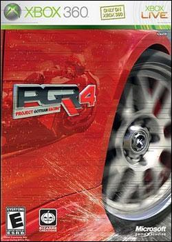 Project Gotham Racing 4 Box art