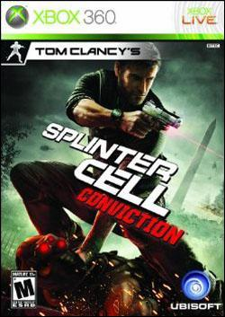 Tom Clancy's Splinter Cell: Conviction (Xbox 360) by Ubi Soft Entertainment Box Art