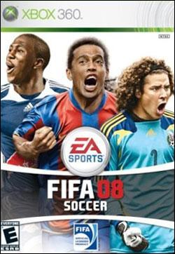 FIFA Soccer 08 (Xbox 360) by Electronic Arts Box Art
