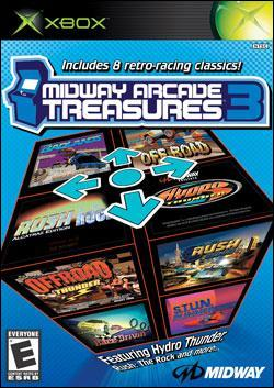 Midway Arcade Treasures 3 (Xbox) by Midway Home Entertainment Box Art