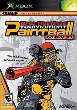 Greg Hastings Paintball Max'D Tournament (Xbox) by Activision Box Art