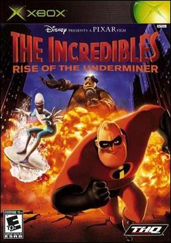 Incredibles, The: Rise of the Underminer (Xbox) by THQ Box Art