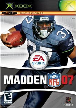 Madden NFL 07 (Xbox) by Electronic Arts Box Art