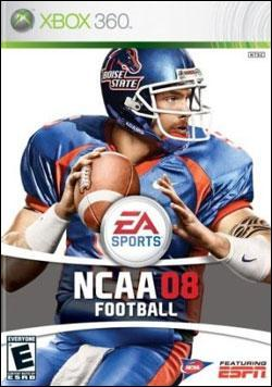 NCAA Football 08 Box art