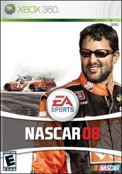 NASCAR 08 (Xbox 360) by Electronic Arts Box Art