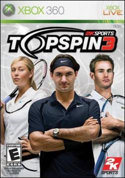 Top Spin 3 (Xbox 360) by 2K Games Box Art