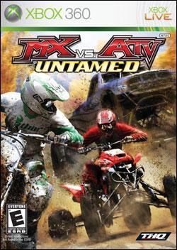 MX vs. ATV: Untamed (Xbox 360) by THQ Box Art