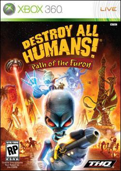 Destroy All Humans! Path of the Furon (Xbox 360) by THQ Box Art