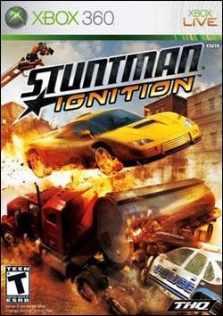 Stuntman: Ignition (Xbox 360) by THQ Box Art