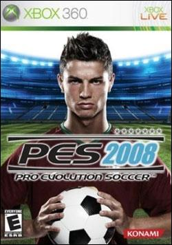 Pro Evolution Soccer 2008 (Xbox 360) by Konami Box Art