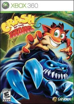 Crash Of The Titans (Xbox 360) by TDK Mediactive Box Art