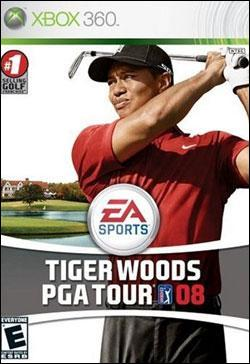 Tiger Woods PGA Tour 08 (Xbox 360) by Electronic Arts Box Art