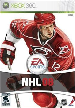 NHL 08 (Xbox 360) by Electronic Arts Box Art
