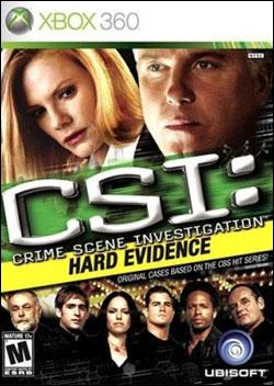 CSI Hard Evidence (Xbox 360) by Ubi Soft Entertainment Box Art