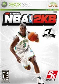 NBA 2K8 (Xbox 360) by 2K Games Box Art