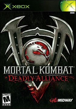Mortal Kombat: Deadly Alliance (Xbox) by Midway Home Entertainment Box Art