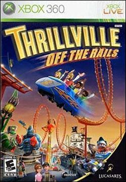 Thrillville: Off The Rails (Xbox 360) by LucasArts Box Art