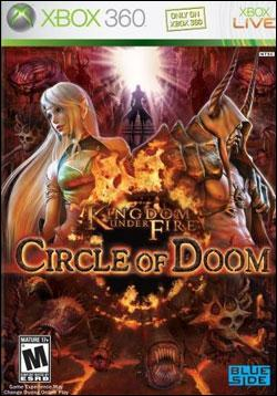 Kingdom Under Fire: Circle of Doom (Xbox 360) by Microsoft Box Art