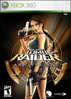 Tomb Raider Anniversary (Xbox 360) by Eidos Box Art