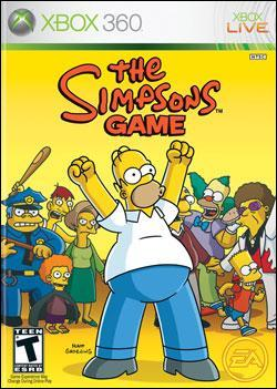 Simpsons Game, The Box art
