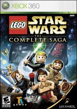 LEGO Star Wars: The Complete Saga (Xbox 360) by LucasArts Box Art