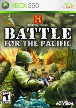 History Channel: Battle For the Pacific (Xbox 360) by Activision Box Art