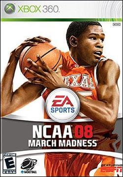 NCAA March Madness 08 (Xbox 360) by Electronic Arts Box Art
