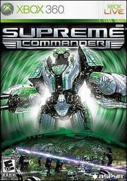 Supreme Commander (Xbox 360) by Aspyr Media Box Art