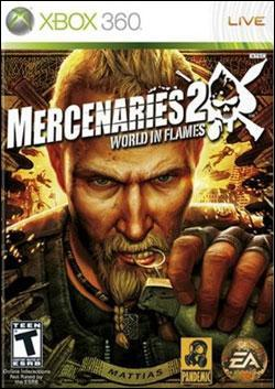 Mercenaries 2: World in Flames Box art