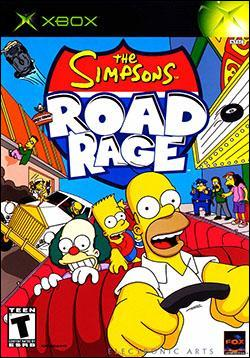 The Simpsons Road Rage Box art