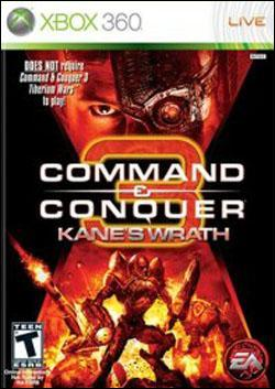 Command & Conquer 3: Kane's Wrath (Xbox 360) by Electronic Arts Box Art