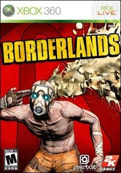 Borderlands (Xbox 360) by 2K Games Box Art