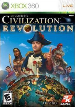 Sid Meier's Civilization Revolution (Xbox 360) by 2K Games Box Art