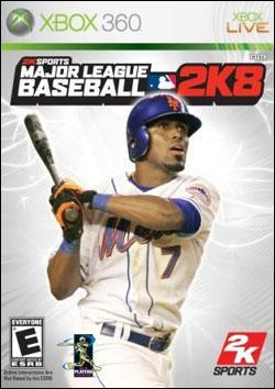 Major League Baseball 2K8 (Xbox 360) by 2K Games Box Art