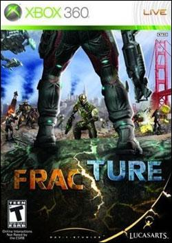 Fracture (Xbox 360) by LucasArts Box Art